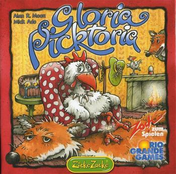 Gloria Picktoria board game