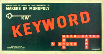 Keyword board game