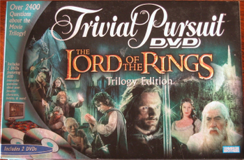 Trivial Pursuit: DVD – The Lord Of The Rings Trilogy Edition board game