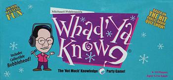 Whad'Ya Know? board game