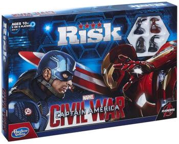 Risk: Captain America – Civil War Edition board game