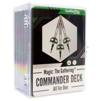 New Player Commander Deck - All for One board game