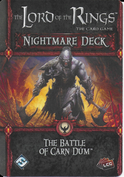 The Lord of the Rings: The Card Game – Nightmare Deck: The Battle of Carn Dûm board game