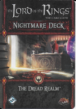The Lord of the Rings: The Card Game – Nightmare Deck: The Dread Realm board game