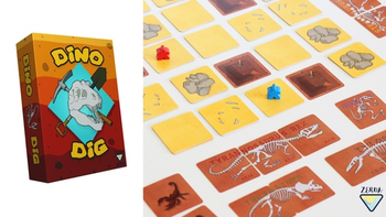 Dino Dig board game