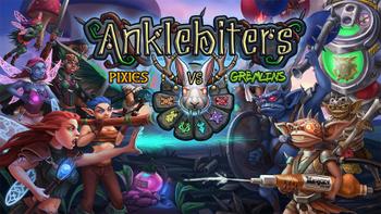 Anklebiters: Pixies VS Gremlins board game