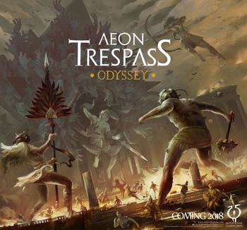 Aeon Trespass: Odyssey board game
