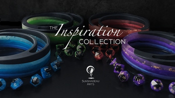 The Inspiration Collection by Sunshadeau Arts board game