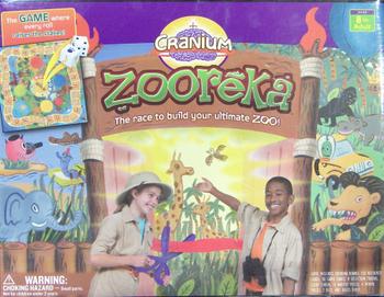 Cranium Zooreka! board game