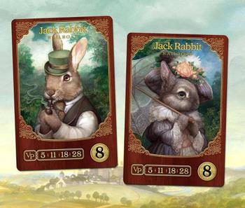 Raccoon Tycoon: Jack Rabbit Railroad board game
