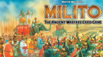 Martin Wallace's Milito game board game