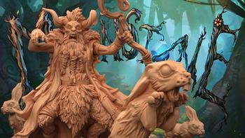 Moonstone Fantasy Skirmish Game - Leshavult Expansion board game
