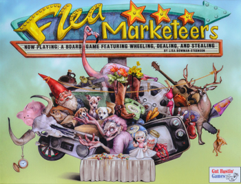 Flea Marketeers board game