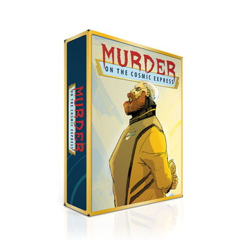 Murder on the Cosmic Express board game