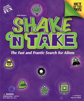 Shake 'n Take board game