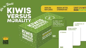 Kiwis Versus Morality 2.0 board game