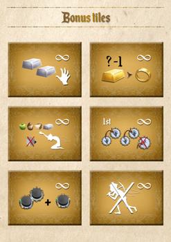 Pixie Queen: Bonus Tiles board game
