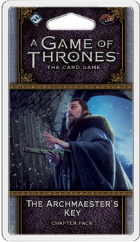 A Game of Thrones: The Card Game (Second Edition) - The Archmaester's Key Chapter Pack board game
