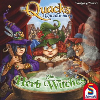 The Quacks of Quedlinburg: The Herb Witches board game