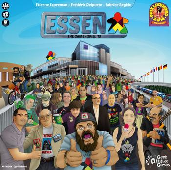 ESSEN The Game: SPIEL'13 board game