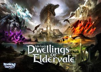 Dwellings of Eldervale board game