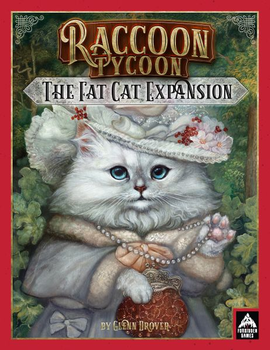 Raccoon Tycoon: The Fat Cat Expansion board game