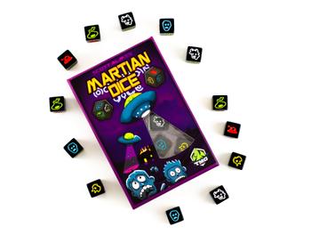 Martian Dice Game board game
