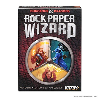 Dungeons & Dragons: Rock Paper Wizard board game