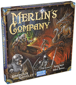 Shadows Over Camelot: Merlin's Company board game