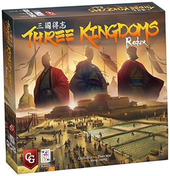 Three Kingdoms Redux board game