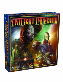 Twilight Imperium: Third Edition - Shattered Empire board game