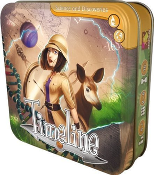 Timeline: Science and Discoveries board game
