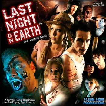 Last Night on Earth: The Zombie Game board game