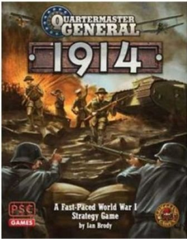Quartermaster General: 1914 board game