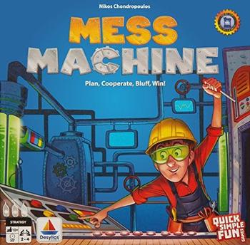 Mess Machine board game