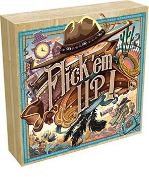 Flick 'em Up! board game