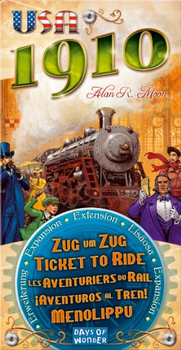 Ticket To Ride: USA 1910 Expansion board game