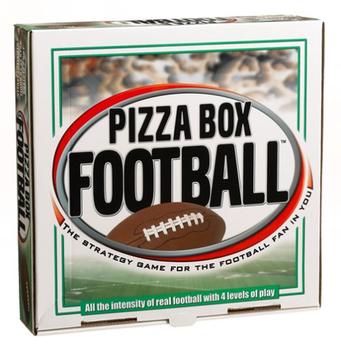 Pizza Box Football board game