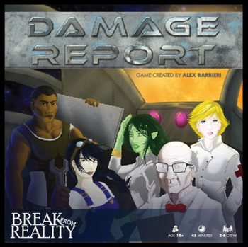 Damage Report board game