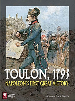 Toulon, 1793: Napoleon's First Great Victory board game