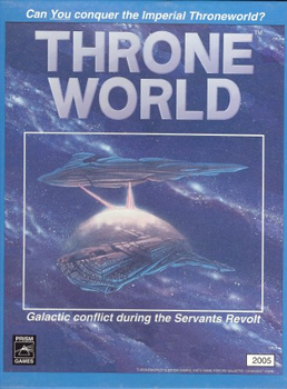 Throneworld: Galactic Conquest Game board game