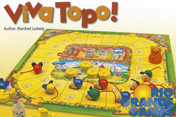 Viva Topo! board game