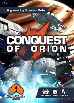 Conquest of Orion board game