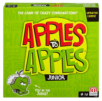 Apples to Apples Junior - The Game of Crazy Comparisons! board game