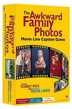 The Awkward Family Photos Movie Line Caption Game board game