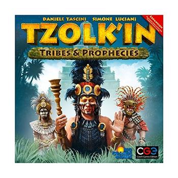 Tzolk'in: The Mayan Calendar – Tribes & Prophecies board game