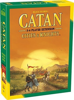 Catan: Cities & Knights 5-6 Player Extension board game