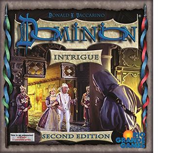 Dominion: Intrigue (Second Edition) board game