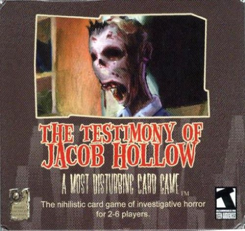 The Testimony of Jacob Hollow board game