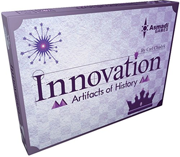Innovation: Artifacts of History board game